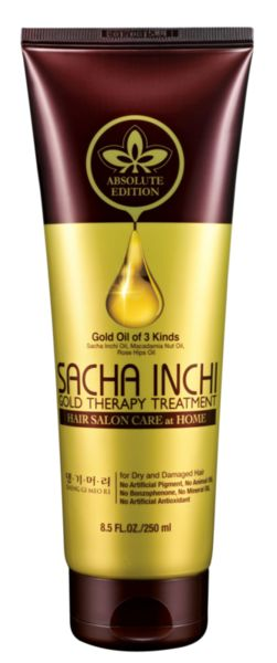 "Професионална маска за суха и увредена коса""Златна терапия"" Doori HAIR SALON CARE"